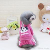 Rompers algodão Primavera macacão pet cão F63c para cães de pequeno porte médio dogbaby roupas cachorro outono S-2XL frete grátis