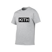 Odzież męska Letnia męska Koszulka Kith Moda Kobiety Suknie Koszulka Fajna Krótki Rękaw Round Neck Neck Tee Men Men Damska Designer Tshirt