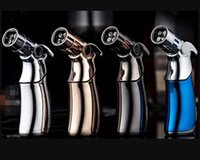 Brand Four mouthes Torches lighter Butane Torch Windproof Je...