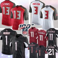 13 Mike Evans Tampa # Bay Korsan 3 Jameis Winston Jersey 1 Kyler Murray Arizona # Kardinal 11 Larry Fitzgerald Patrick Peterson mens