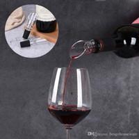 Weiß Rotwein-Belüftungsanlagen Ausgießer Flasche Ausgießer Dekanter Ausgießer Belüften Tragbare Wein Gießen Werkzeuge Dauerhafte Acryl Ausgießer BH1706 TQQ