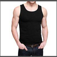 Fashion Singlet Bodybuilding Stringer Tank Top Men Fitness Vest Muscle Guys Casual Man Tops Sleeveless Tees Undershirt T-22151