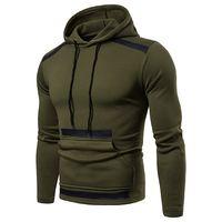 Yeni Tasarımcı Hoodie Erkekler Streetwear Uzun Kollu Tortum Casual Askeri Kamuflaj Cep Kazaklar Erkek Kazak sueter Masculino M-3XL