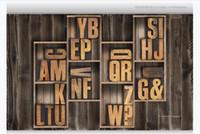 3D индивидуальные большие фото фреска обои внутреннее убранство старинные деревянные рамы твердое письмо 3d гостиная ТВ фон стены