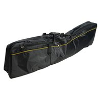 Moda Carry Case Leve Oxford Pano De Luxo 88-chave Teclado Eletrônico Saco para Instrumentos Musicais Acessórios Preto