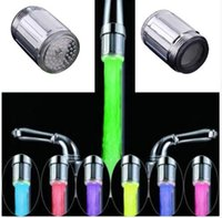 Luminous Glow Light- up LED Water Faucet Shower Tap Water Noz...