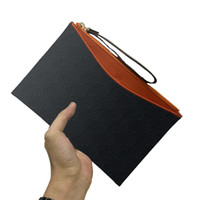 Pochette da toilette Pouch borse borse da uomo portafogli da donna spalla della borsa dei raccoglitori del supporto di carta del raccoglitore di modo della catena chiave del sacchetto di 08 623