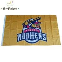 Milb Toledo fango galline flag 3 * 5ft (90 cm * 150 cm) poliestere banner decorazione volante giardino giardino regali festivi