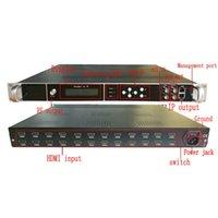 24-kanałowa maszyna do kodowania i modulacji HD HD-MI do RF (DVB-T C ATSC ISDB DTMB) IP ASI Hotel TV Front End