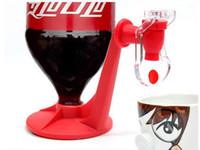 Питьевой инструмент Перевернутый Питьевые фонтанчики Fizz Saver Cola Soda Переключатель напитков Поилки Ручное давление воды Диспенсер для воды Автоматический DH0482