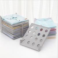 الملف تكويم الملابس مجلس رفوف التخزين للطي وتنظيم حامل مزيج التشطيب الرف طي أداة EEA1418