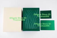 2019 En OME Özel Model Seri Numarası On Garanti Kartı En İyi Kalite Yeşil İzle Kutusu İçin Rolex Kutuları Saatler Kitapçıklar Etiketler Papers yazdır