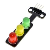 LED 신호등 모듈 5V 디지털 신호 출력 일반 밝기 3 조명 별도 제어 공장 도매