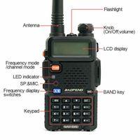 BF UV-5R radio bidirezionale scanner manuale Police Fire HAM Wireless Transceiver