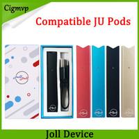 Vape Joll Starter Kits 280mAh Kompatibel Raucher Pen Batterie USB-Ladegerät Patronenpods Einweg-Vape-Pen-Kit vs Myle-Kit