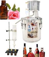 Essencial Extractor Petróleo 220V hydrolat Distiller Brewing Equipamento de vinho para o Início Fermentação Brandy Ferramenta de Bricolage