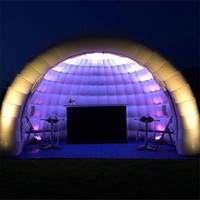 تخصيص نفخ خيمة نفخ Igloo قبة خيمة الإعلان حدث الديكور عرض الترويج ل 2020 للبيع
