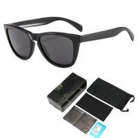 Outdoor Marque Designer Lunettes de soleil F peau lunettes de soleil polarisées Lunettes de soleil TR90 Cadre hommes et femmes et cas Boîte de haute qualité