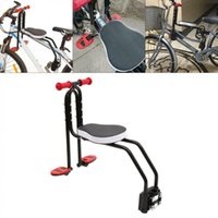 Bicicleta Sillines Bicicletas Bicicleta Plegable Niño Asiento Niños Silla de monte Frente Montaje Niños Carrier de seguridad de niños # 5