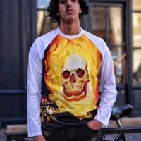 19ss Ghost Rider Raglan L s Top Long Sleever High Street Rou...