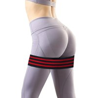 Non- slip 2019 yoga beautiful hip belt Resistance Rubber Band...