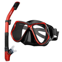 Professional Diving Masks Goggles Anti- Fog Full Dry Silicone...