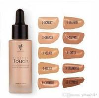 Fundação Younique líquido 10 cores Hidratante Facial Básico compõem umidade duradoura base em pó delicado 20 ml