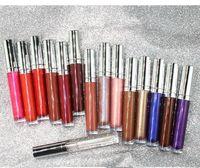 클리어 립 글로스 립스틱 쉬머 반짝이 립 글로스 립스틱 립글로스를 지속 도매 방수 15 개 가지 색상 광택 액체 립 글로스 긴