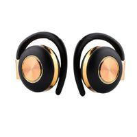 Air V5 TWS casque sans fil Stéréo Bluetooth 5.0 Ecouteurs Earphone Crochet Crochet Annulation Casque Bluetooth avec microphone