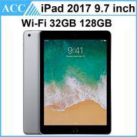 Remodelado original apple ipad 2017 9.7 polegada 5a versão wifi gen a9 chipset dual core 2 gb ram 32 gb 128 gb rom tablet pc livre dhl 1 pcs