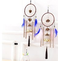 Round Wind Chimes Home Hanging Decorations Wind Bell Room Or...