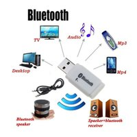 BT-118 3.5mm Akış Bluetooth Ses Müzik Alıcısı Araç Kiti Stereo BT 3.0 Taşınabilir Adaptör Oto AUX A2DP Eller serbest Telefon MP3