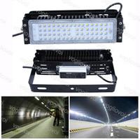 Luzes do túnel 50W SMD3030 60LEDS Floodlight Módulo Fin Dissipação de Calor Dissipação Impermeável IP65 Cool White para Projeto Rodoviário