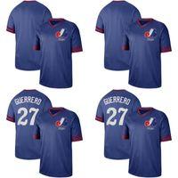 Mens Montreal Expos Jersey 27 Vladimir Guerrero 10 Andre Dawson 14 Pete Rose 45 Pedro Martinez 51 Randy Johnson Baseball Jerseys