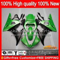 Bodys for Yamaha YZF R6 S YZF600 YZF-R6S YZFR6S 06-09 60HC.113 Pearl Green YZF-600 YZF R6S 06 07 08 09 2006 2007 2008 2009 Kuip + 8Gifts