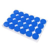24PCS en plastique transparent cosmétique Sample Container 10 Grams Jars Pot Petit Vider