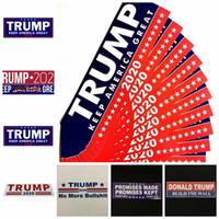 ملصقات السيارات الرابحة 13 أنماط 76 * 23MM الاحتفاظ جعل أميركا مرة أخرى العظمى دونالد ترامب ملصقات الوفير ملصقا عناصر الجدة 10PCS / مجموعة OOA6901