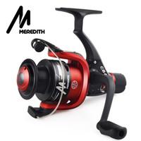 Meredith CB40 sehr kostengünstig für Anfänger Lure Fisher 1BB Verhältnis 5,2: 1 Günstige Kunststoffspule Spinning Angelrolle