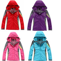 2019 New Women Outdoor Jackets Windproof waterproof Spring&A...