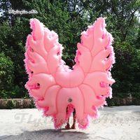 Outdoor Parade prestazioni Walking gonfiabile Devil Angel Wings costume 2m adulti Wearable multicolore far saltare in aria le ali vestito per Stage Show