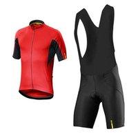 Mavic 2020 Nefes Pro Bisiklet Jersey Erkekler Yaz MTB Giysi Kısa Kollu Bisiklet Giyim Dağ Bisikleti Üniforma Y20092404