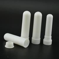 1000 takım / grup Sıcak satış Boş Burun Inhaler Sopa, plastik Boş Aroma Burun Inhalers için DIY uçucu yağ LX7171