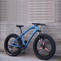 Mountain Bike Spiaggia Neve moto 24/26 pollici 4.0 Super Wide Pneumatici velocità variabile fuori strada Biciclette maschili e femminili studenti adulti