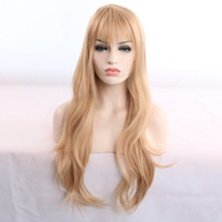 Hot selling sexy fashion women long hair wig 24 inch blonde ...