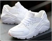 Top Qualidade do Ar Huarache Sapatos crianças grandes Meninos meninas Men All Black Air Running Shoes huaraches Casual Shoes Sneakers Treinador de Atletismo