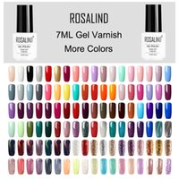 Розалинда ногтей гель польский лак Полу Постоянный UV Гибридный Nail Art Гель лак эмаль Top Base Coat Off Gellak White Primer