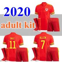 2020 2021 Gales Jersey Jersey Adult Kit 20 21 Bale Allen James Ben Davies Wilson Camisetas National Team Home Vermelho Maillot Football Camisa