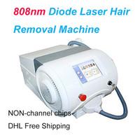 808nm Diode Laser-Haarentfernung Maschine Hautverjüngung Laser-Behandlung Sopranistin Eis Laser-Haarschönheitsausrüstung