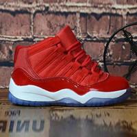 Bred XI 11S Kids Basketball Chaussures Gym Infant Enfants Enfants Enfants Gamma Bleu Concord 11 Entraîneurs Garçon Girl Tn Sneakers Sneakers Confiture de l'espace