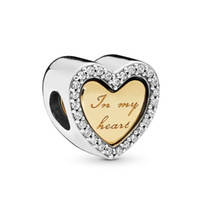 New Mother Day Authentic 925 Sterling Silver Bead In My Hear...